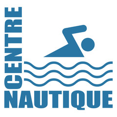 Logo centre nautique.