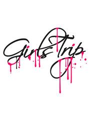 spray tropfen graffiti girls trip urlaub spaß reise frauen mädchen ferien feiern party mädels abend strand meer fliegen