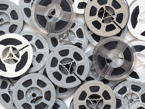 Vintage 8mm films and reels