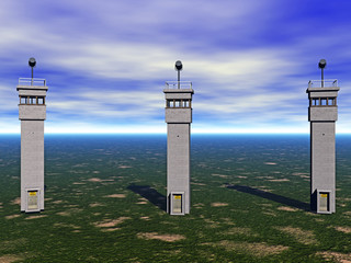 Wachturm mit Ausblick