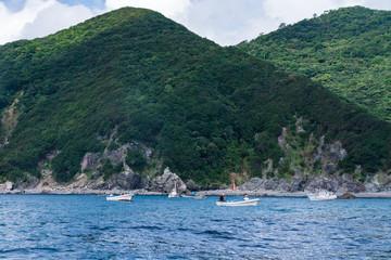 海あり山あり、徳島の海女たち