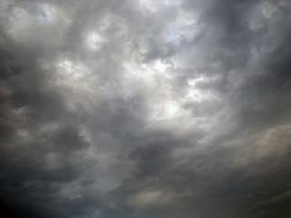 Sky in the clouds. Cloudy
