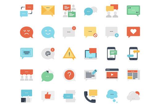 Message Bubble Icons