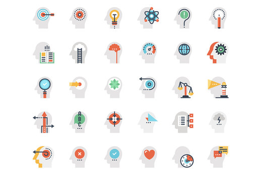 Mind and Thought Icons