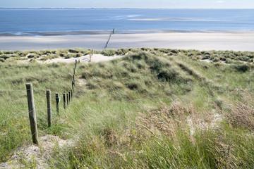 artificial Maasvlakte beach near Rotterdam, the Netherlands