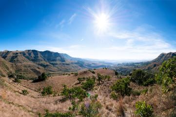 Drakensburg Escarpment in South Africa