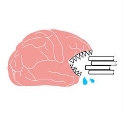 Brain eating books