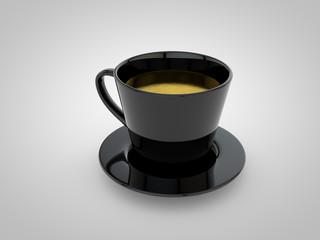 coffee cup 3d render