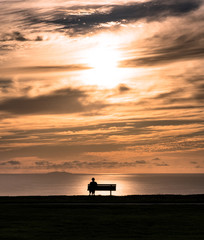 Solitude at Sunset