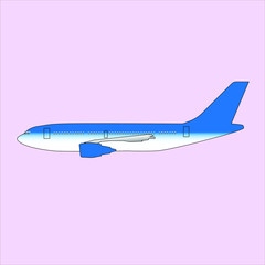 Passenger Air Bus Plane