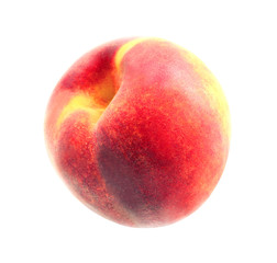 Photo of a bright macro sweet peach