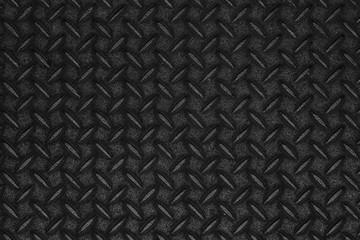 Black diamond plate pattern and seamless background