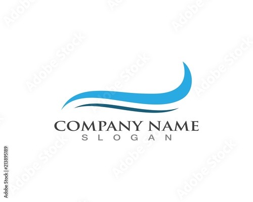 wave logos template stock image and royalty free vector files on