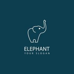 cool elephant logo design