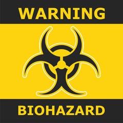 Warning Biohazard, poster design
