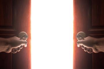 open door light