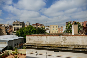 Photo Picture Image of european spanish village building landscape
