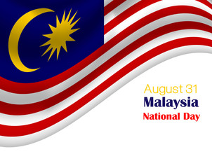 National Day of Malaysia (Merdeka Day is celebrated as a public holiday in Malaysia on 31 August)