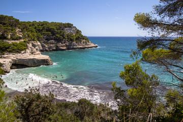 Cala Mitjana, Menorca, Spain