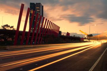 Melbourne gateway Tullamarine freeway