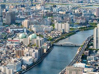 東京 街並み