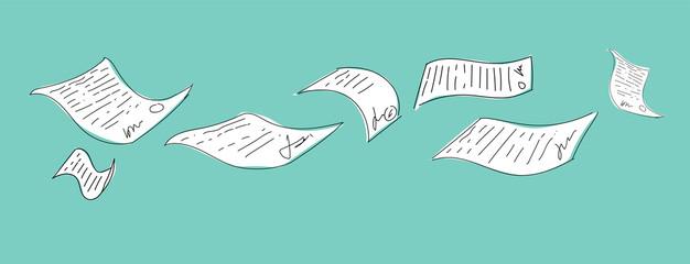 documenti, burocrazia, scartoffie, contratto,