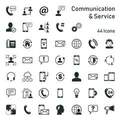 Communication & Service - Iconset