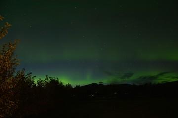 The Northern Lights (Aurora Borealis) in Akureyri