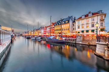 Fotomurales - Copenhagen, Denmark Canal