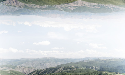 Breathtaking landscape view.