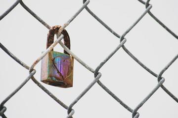 Faded lock