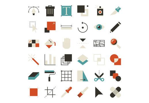 Design Tool Icons