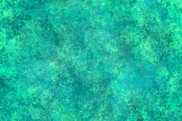 Aqua Textured Background with a Sponged Type Effect