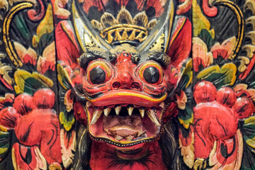 Indonesian Mask with Teeth