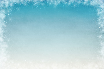 Winter Themed Background for Adding Text or Writing