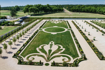 Château de Chambord - Les jardins