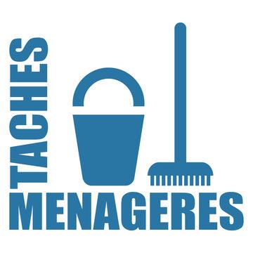 Logo tâches ménagères.