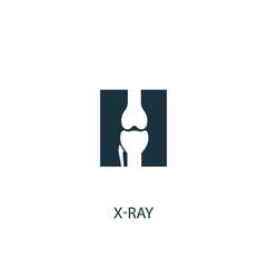x-ray creative icon. Simple element illustration