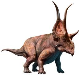 Wall Mural - Diabloceratops 3D illustration