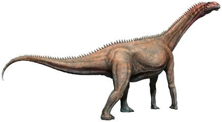 Wall Mural - Mierasaurus 3D illustration