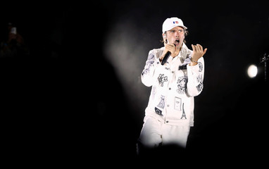 French rapper Orelsan performs at the Nice Jazz Festival in Nice
