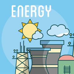Energy power concept
