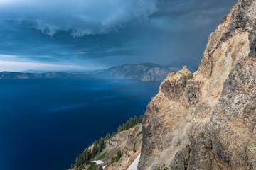 Storm Clouds Sneak Around Garfield Peak
