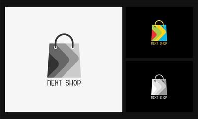 next shop icon logo