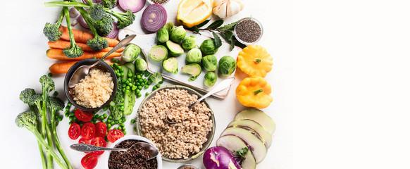 Ntrient rich foods concept