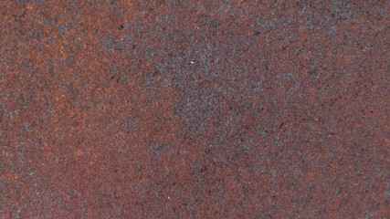 Rust on metal plate