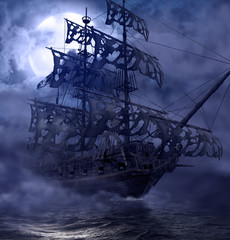 Pirate Ghost Ship Flying Dutchman