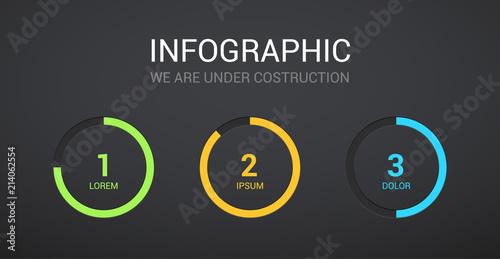 Countdown Coming Soon Digital Clock Timer Vector Under Construction