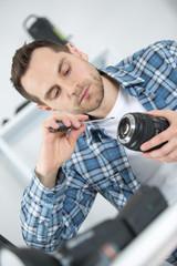 cleaning lens digital camera