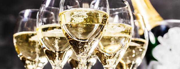 Champagner Glas (Sekt)